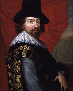 Portrait of Sir Francis Bacon