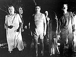 "Zombies as portrayed in the movie ""Night of the Living Dead"""