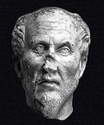 Reconstructed bust believed to represent Plotinus