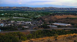 Yakima viewed from Lookout Point