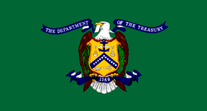 Flag of the United States Department of the Treasury.png