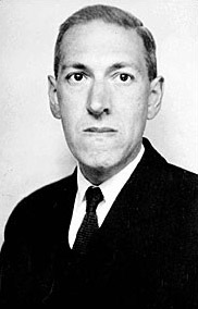 A photograph of H.P. Lovecraft