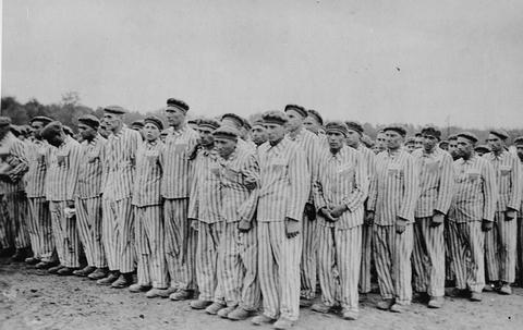 Buchenwald camp, 1938-1941, B&W from US Holocaust Memorial Museum.jpg