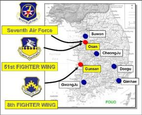 7th Air Force Bases