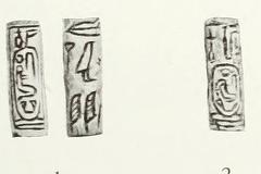 A pair of cylinder seals of Sedjefakare from the Faiyum region, now in the Petrie Museum