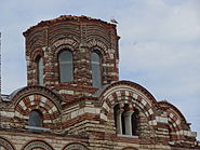 Exterior picture of the dome of Church of Christ Pantocrator in Nesebar