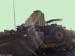 Humvee down after isis attack.jpg