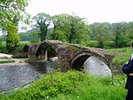 Old Bridge, Lower Hodder (that Part in the Former Bowland Rural District)