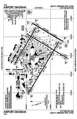 FAA airport diagram as of September 2014.
