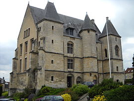 The Chateau of the dukes in the center of Argentan.