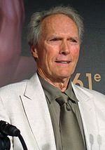 A photo of Clint Eastwood attending the 2008 Cannes Film Festival.