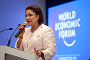 Kamla Persad-Bissessar - World Economic Forum on Latin America 2011.jpg