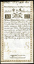 10 Zlotych, first issue of 1794