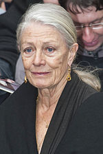 Photo of Vanessa Redgrave.