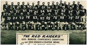 Texas Tech defeated Auburn in the 1954 Gator Bowl Game.