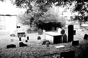First Cemetery of the Spanish and Portuguese Synagogue, Shearith Israel (1656-1833) in Manhattan, New York City.jpg