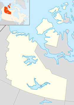 Hay River is located in Northwest Territories