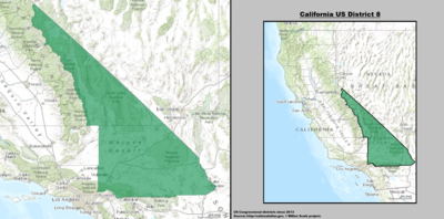 California US Congressional District 8 (since 2013).tif