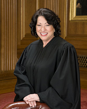 Official Supreme Court photo of Sonia Sotomayor