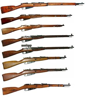 Mosin Nagant series of rifles.jpg