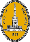Official seal of Baltimore, Maryland