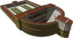 A 3D reconstruction of the Theatre of Pompey