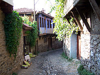Traditional houses of Cumalıkızlık