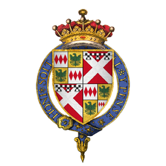 Coat of Arms of Sir Richard Neville, 5th Earl of Salisbury, KG.png