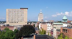 Skyline of Lancaster, Pennsylvania