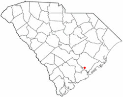 Location of Goose Creek, South Carolina