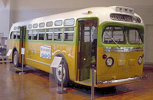 Montgomery Bus that made Rosa Parks notable