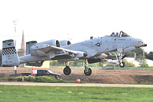 25th Fighter Squadron Fairchild Republic OA-10C Thunderbolt II 81-0971.jpg