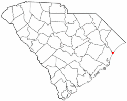 Location of Murrells Inlet inSouth Carolina