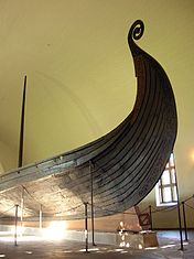 The Oseberg ship prow