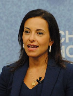 Dina Habib Powell, Head, Impact Investing Business, Goldman Sachs; President, Goldman Sachs Foundation (19459892442).jpg