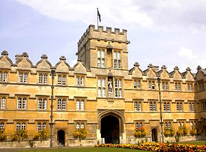 Quad, University College, Oxford University