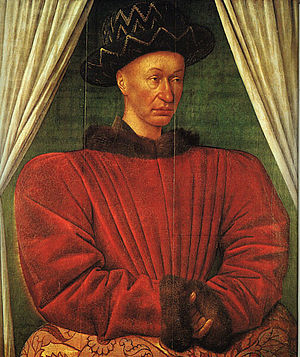 Charles VII by Jean Fouquet 1445 1450.jpg