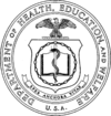 Seal of the U.S. Department of Health, Education, and Welfare