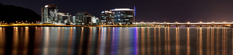 Tempe cityscape from Tempe Town Lake