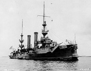 USS New Orleans (CL-22) in 1898