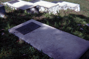 A picture of Archibald Monteith's grave in Jamaica, he was an Igbo taken to Jamaica as a slave