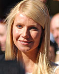 Photo of Gwyneth Paltrow attending the Academy Awards in 2012.