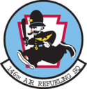 146th Air Refueling Squadron emblem.png