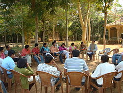 Discussions during the camps of Nirman