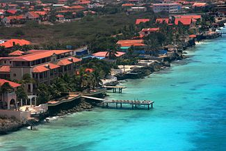 Skyline of Bonaire