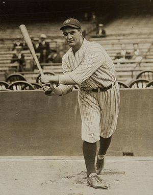 Lou Gehrig as a new Yankee 11 Jun 1923.jpg