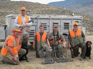 Upland Game hunting for quail in California.