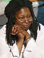 A photo of Whoopi Goldberg.