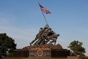 The Marine Corps War Memorial in Arlington, Va., can be seen prior to the Sunset Parade June 4, 2013 130604-M-MM982-036.jpg