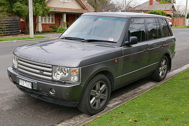 2002 Land Rover Range Rover (L322 MY03) Vogue wagon (2015-07-03) 01.jpg